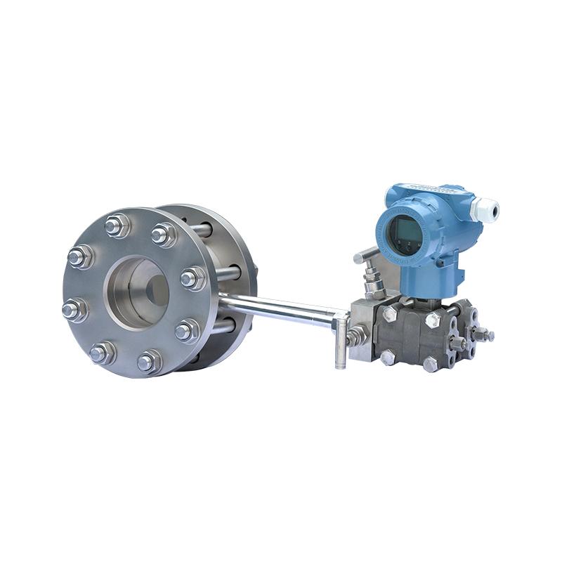 Orifice plate flowmeters throttling devices